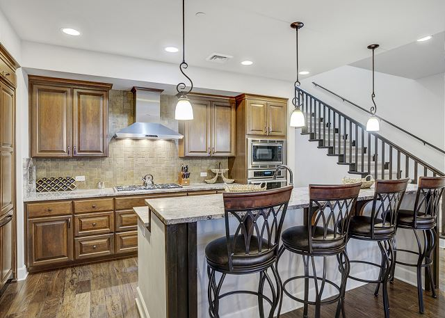 Townhome 508 - Fully Furnished Kitchen
