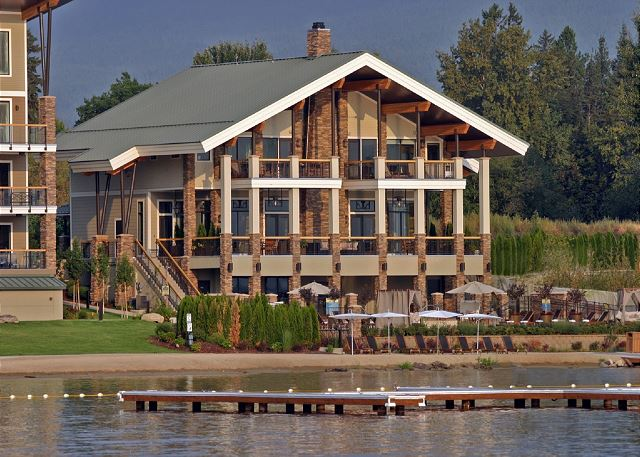 Seasons at Sandpoint - The Retreat, Lake Side