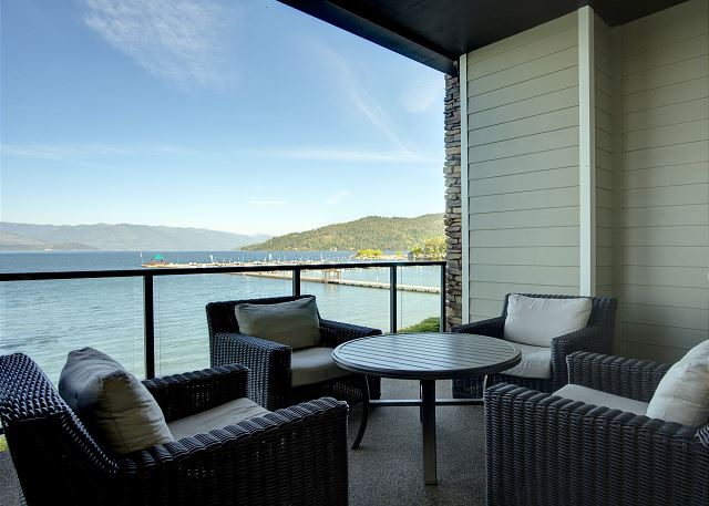 Townhome 508 - Furnished Balcony