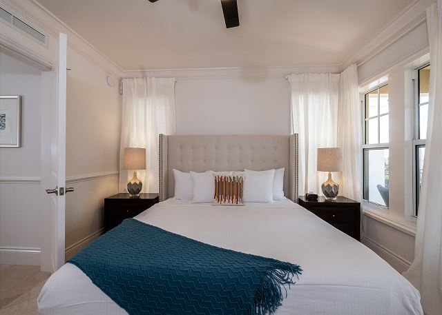 Residence #3822 - Lower Level Guest Bedroom with Private Patio
