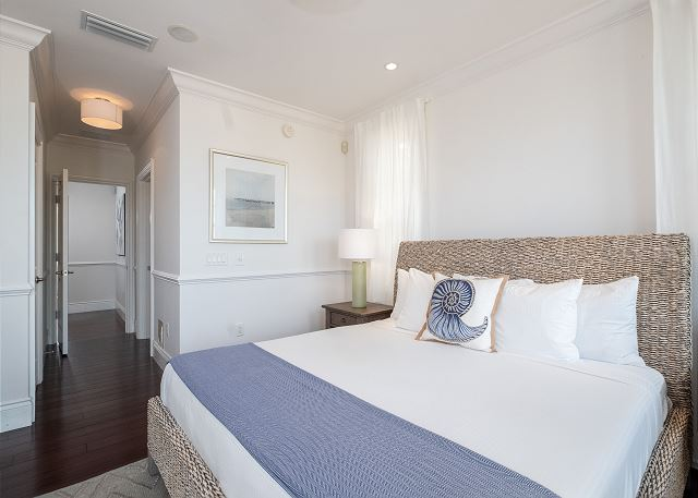 Residence #3822 - Master Bedroom with Private Terrace & Wet Bar