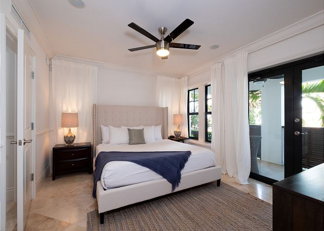 Residence #3823 - Lower Level Guest Bedroom with Private Patio
