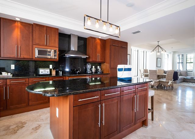 Residence #3823 - Spacious Kitchen with Center Island