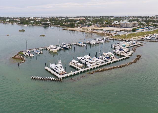 Outer Basin - Marina Aerial Views
