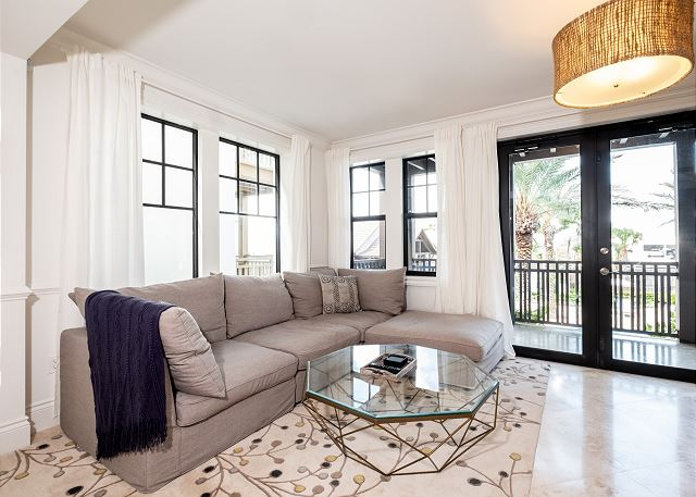 Residence #3823 - Living Area with Private Terrace