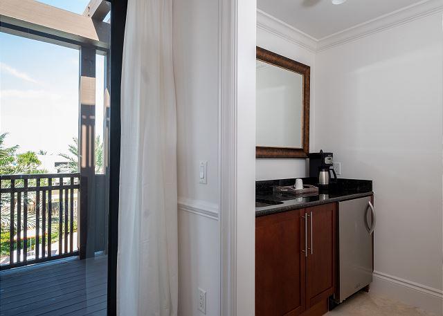 Residence #3823 - Wet Bar in Master Bedroom