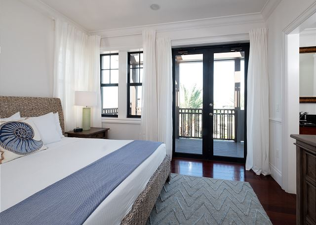 Residence #3823 - Master Bedroom with Private Terrace