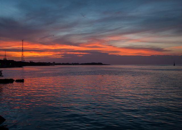 Florida Bay Sunsets from The Marina