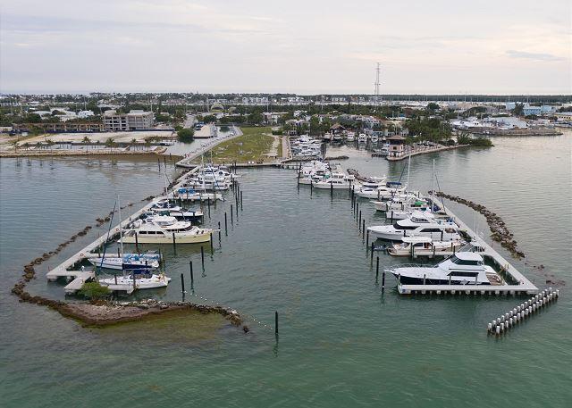 Marlin Bay Resort & Marina - Aerial Views - Outer Basin