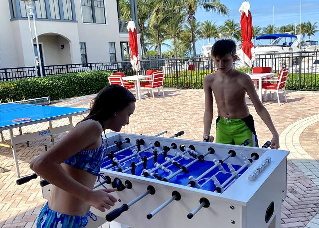 Pool Deck - Foosball Table