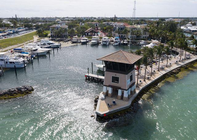 Marina Aerial Views - Inner Basin and Sunset Tower