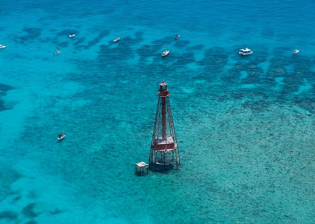 Quick Boat Ride to the famous Sombrero Lighthouse & Reef