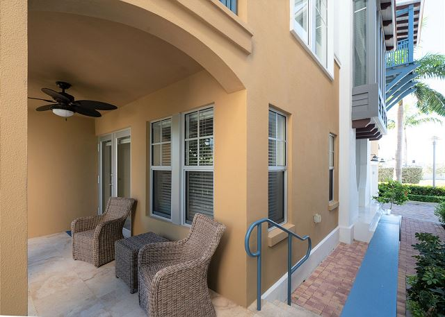 Residence #3826 - Lower Level Patio