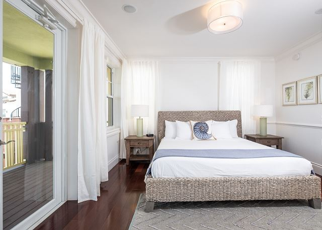 Residence #3828 - Master Bedroom with Private Terrace