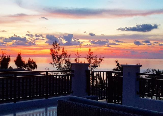 Residence #3820 - Roof Top Deck at Sunset