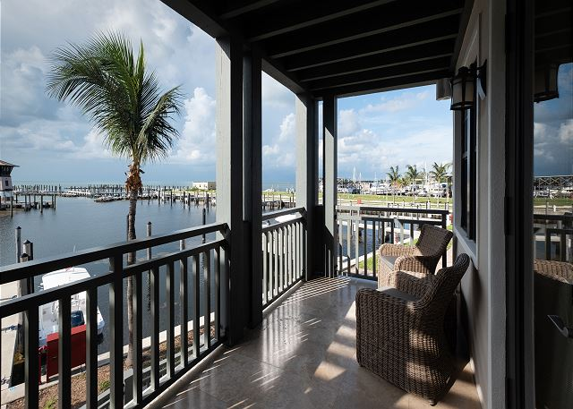 Residence #3820 - Private Terrace overlooking The Marina & Florida Bay