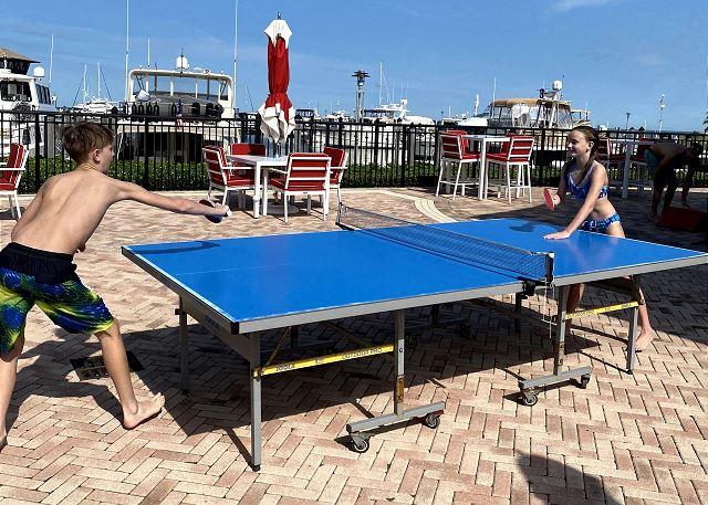 Pool Deck - Ping Pong Table