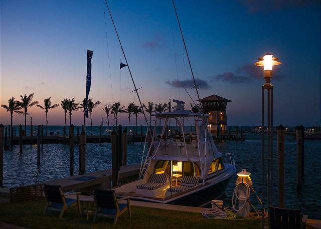 Marina Views at Twilight