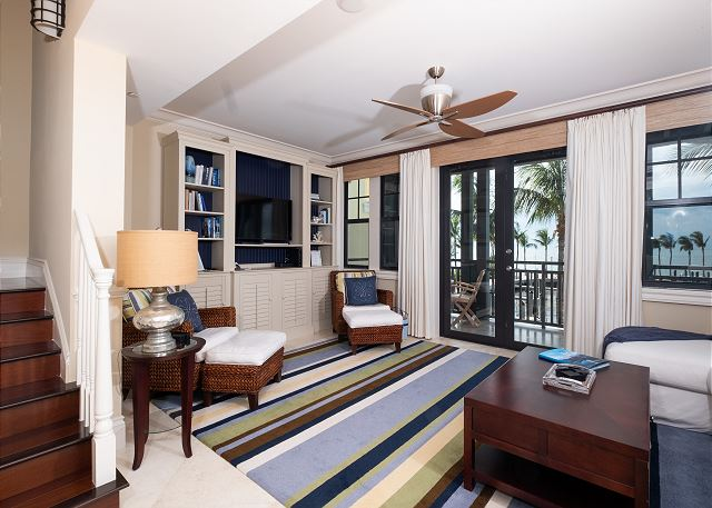 Residence #3820 - Entertainment Space with Private Terrace overlooking The Marina