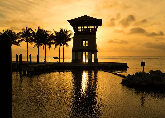 Sunset Tower at Sunset