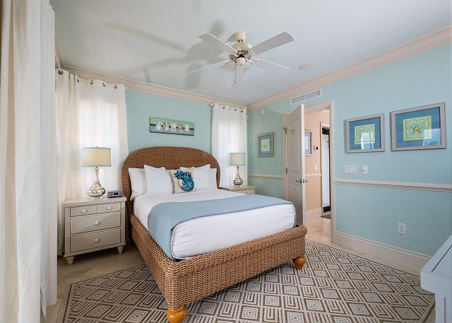 Residence #3820 - Lower Level Guest Bedroom with Private Patio