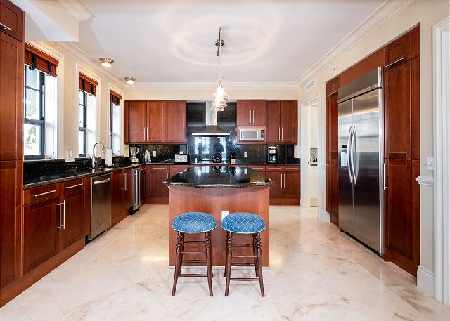 Residence #3820 - Fully Furnished Kitchen with Adjoining Laundry Room