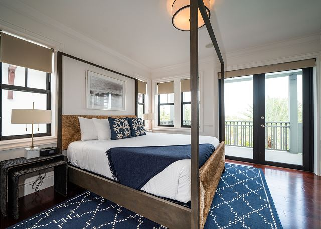 Residence #3825 - Master Bedroom with Private Terrace