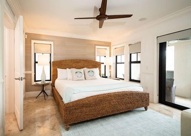 Residence #3825 - Lower Level Guest Bedroom with Private Terrace