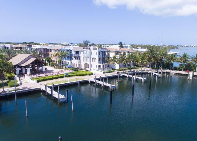 Marina Aerial Views - Inner Basin and Rental Homes