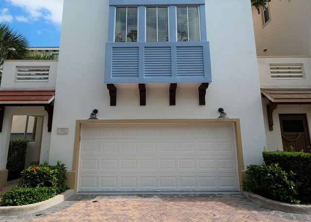 Residence #3821 - Exterior of Home, Garage Entrance