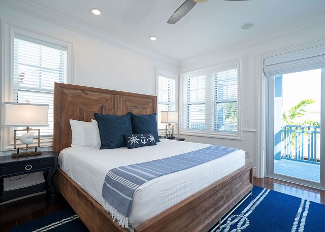 Residence #3821 - Master Bedroom with Private Patio