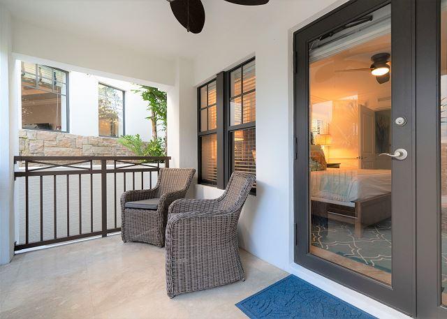 Residence #3830 - Lower Level Terrace