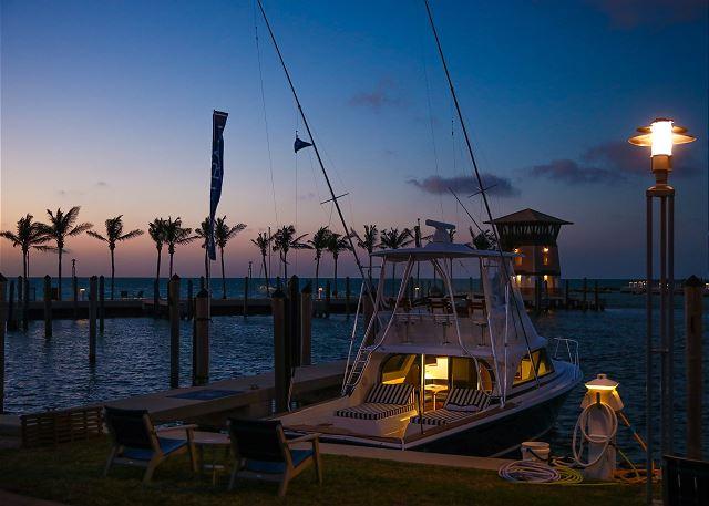 The Marina at Twilight
