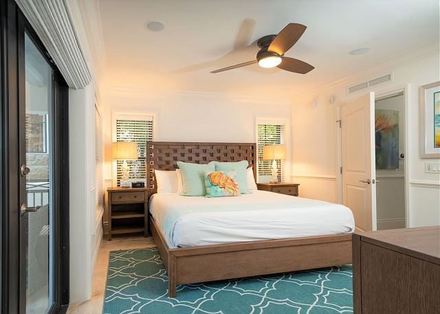 Residence #3830 - Lower Level Guest Bedroom with Private Terrace