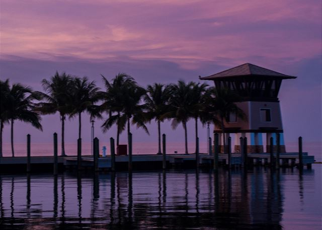 Marina Views - Sunset Tower at Dusk