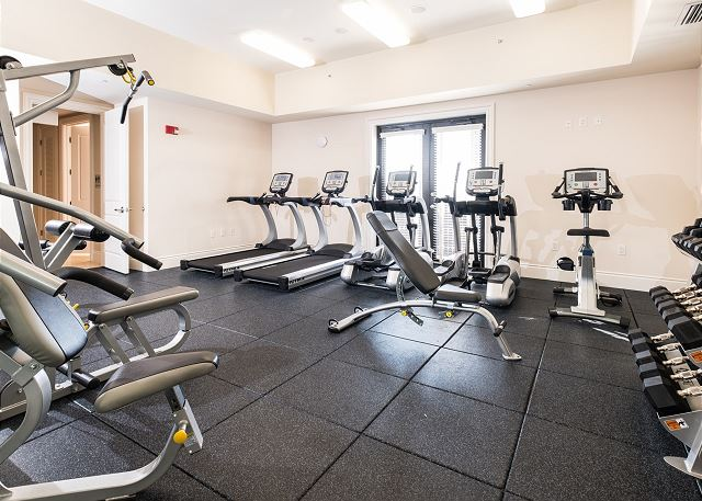 The Clubhouse - Fitness Center. **Limited Guests at a time, due to Covid-19 **