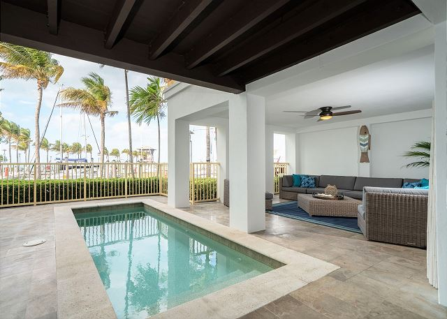 Residence #3819 - Private Plunge Pool with Outdoor Sitting Space