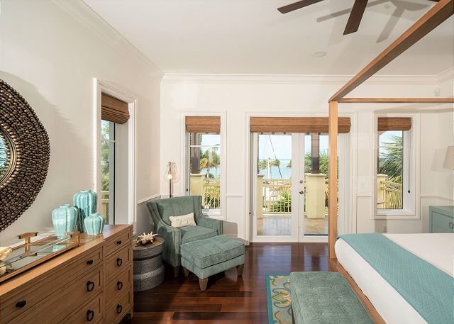 Residence #3819 - Master Bedroom with Private Terrace