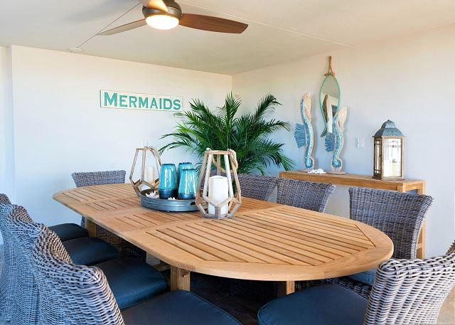 Residence #3819 - Private Outdoor Dining Space