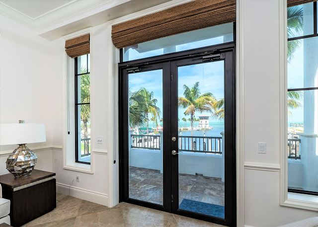 Residence #3840 - Private Patio with Marina View