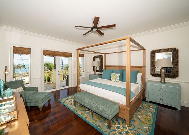 Residence #3840 - Master Bedroom with Private Terrace