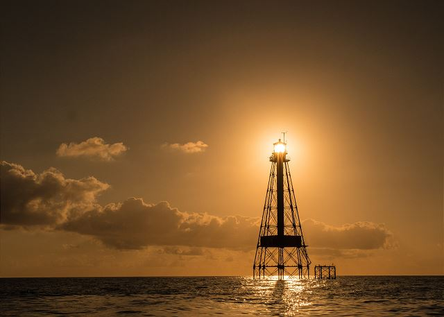Sunset at Sombrero Lighthouse
