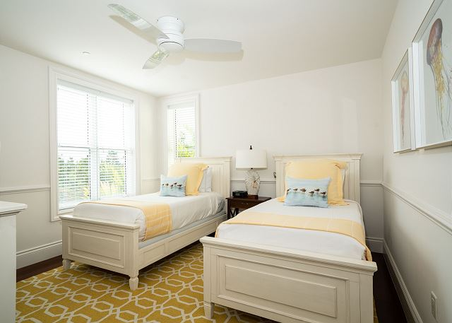 Residence #3840 - Third Floor Guest Bedroom with 2 Twins