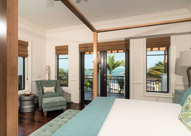 Residence #3840 - Master Bedroom with Marina View