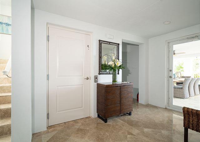 Residence #3840 - Entry Level Foyer with Elevator