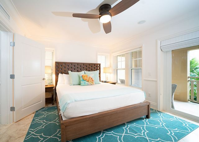 Residence #3827 - Lower Level Guest Bedroom with Private Terrace