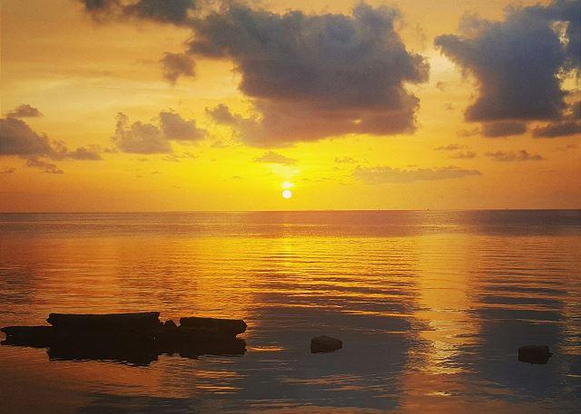 Sunset from the Marina at Marlin Bay Resort & Marina -