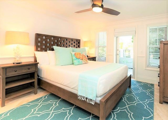 Residence #3829 - Lower Level Guest Bedroom with Private Terrace