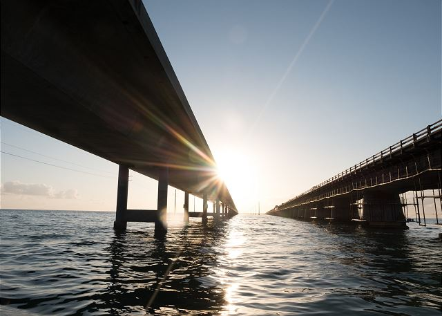 Seven Mile Bridge - Quick Boat Ride from Resort - Access to Ocean