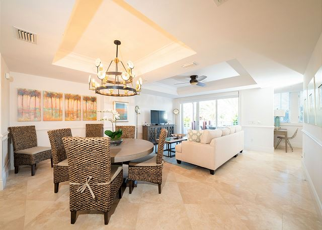 Residence #3829 - Open Floor Plan - Dining Area & Living Area